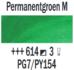 Permanentgroen middel  Rembrandt Olieverf Royal Talens 40 ML (Serie 3) Kleur 614_5
