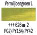 Vermiljoengroen Licht  Rembrandt Olieverf Royal Talens 40 ML (Serie 2) Kleur 626_5