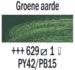 Groene aarde  Rembrandt Olieverf Royal Talens 40 ML (Serie 1) Kleur 629_5
