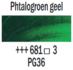 Phtalogroen geel  Rembrandt Olieverf Royal Talens 40 ML (Serie 3) Kleur 681_5