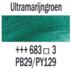 Ultramarijngroen  Rembrandt Olieverf Royal Talens 40 ML (Serie 3) Kleur 683_5