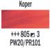 Koper  Rembrandt Olieverf Royal Talens 40 ML (Serie 3) Kleur 805_5