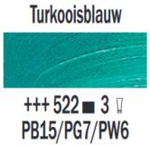 Rembrandt-Olieverf-Turkooisblauw--Royal-Talens-150-ML-Kleur-522