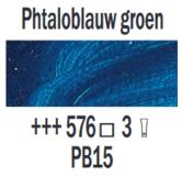 Rembrandt-Olieverf-Phtaloblauw-groen--Royal-Talens-150-ML-Kleur-576