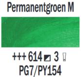 Rembrandt-Olieverf-Permanentgroen-middel--Royal-Talens-150-ML-Kleur-614