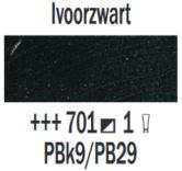 Rembrandt-Olieverf-Ivoorzwart--Royal-Talens-150-ML-Kleur-701